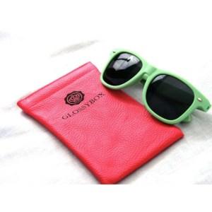 Lunettes de soleil personnalisées Glossybox